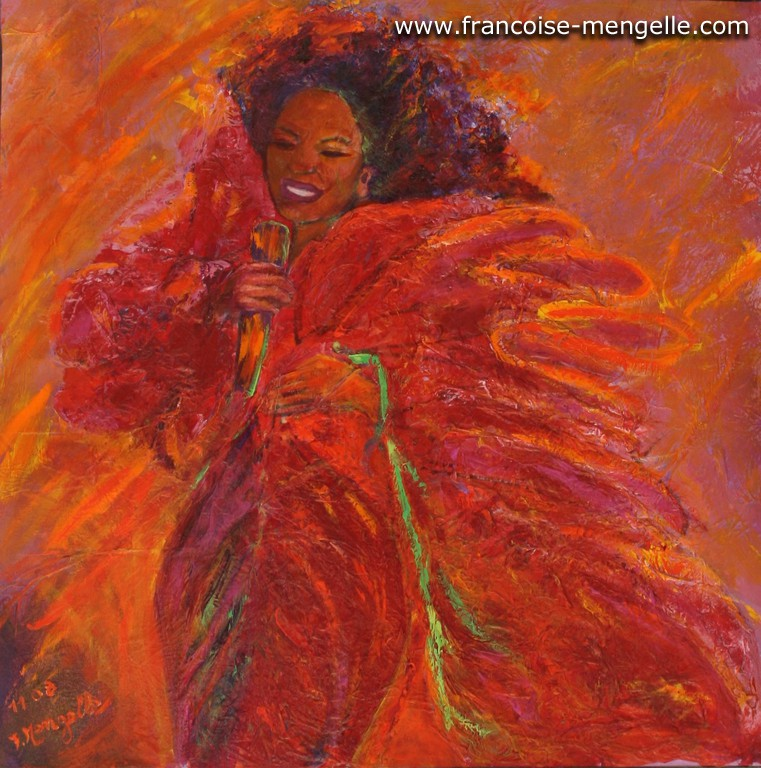 Portrait de Diana Ross